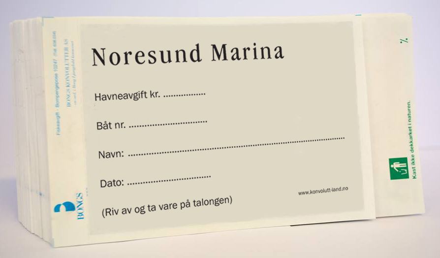 Havneavgift-konvolutt